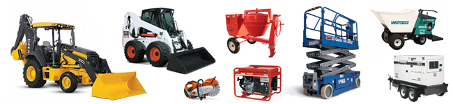 Equipment Rentals in Raleigh & Wilson NC