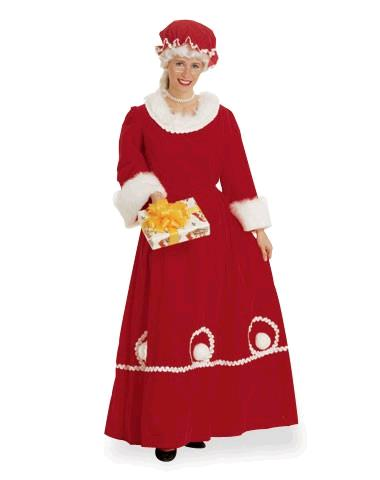 Where to find DELUXE MRS CLAUS W  CAPELETTE HOOD in Raleigh