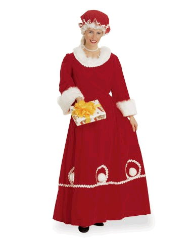 Where to find DELUXE MRS CLAUS W SEQUIN MEDIUM in Raleigh