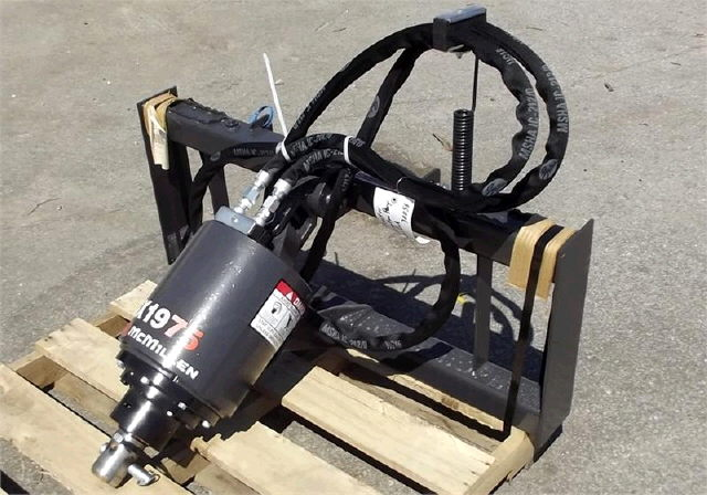 Auger Bobcat Power Head Rentals Raleigh Nc Where To Rent