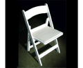 Where to rent CHAIR WHITE RESIN WITH PAD in Raleigh NC
