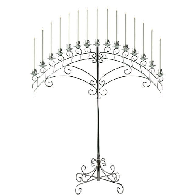 Where to find SILVER 15 LITE FAN CANDELABRA in Raleigh