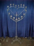 Where to rent SILVER SINGLE HEART CANDELABRA in Raleigh NC