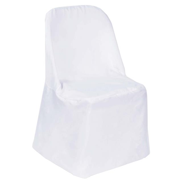 Where to find CHAIR COVER POLY LINEN FOR FOLDING CHAIR in Raleigh