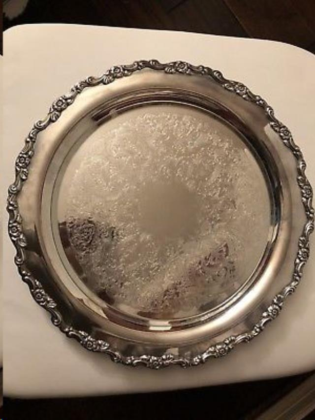 Where to find SILVER TRAY 15  ROUND in Raleigh