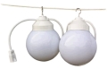 Where to rent GLOBE LIGHTS, STRAND OF 2, 20 in Raleigh NC