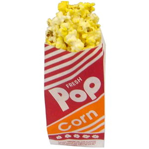 Where to find POPCORN 8  BAGS QTY 50 SMALL in Raleigh