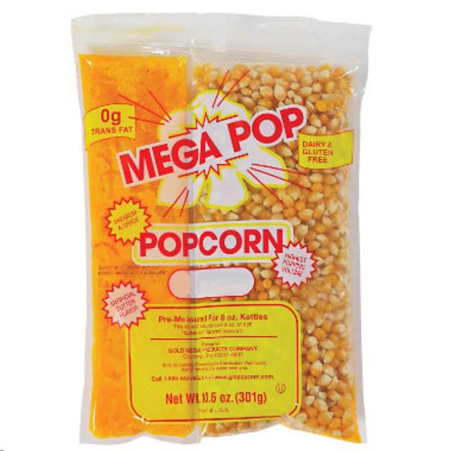 Where to find POPCORN KIT 8OZ. in Raleigh