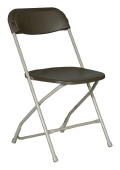 Where to rent CHAIR BROWN ALUMINUM in Raleigh NC