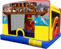 Where to rent NOAHS ARK TODDLER ZONE BOUNCER COMBO in Raleigh NC