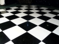 Where to rent DANCE FLOOR 4  X 4  BLACK   WHITE PANEL in Raleigh NC
