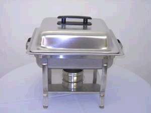 Where to find CHAFER 4 QT PLAIN STAINLESS in Raleigh