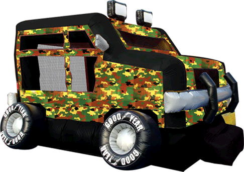 Where to find CAMOUFLAGE TRUCK 18  X 15  BOUNCER in Raleigh