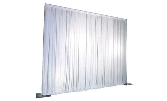 Where to find DRAPE WHITE POLY FOR PIPE AND DRAPE in Raleigh