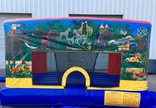 Where to find JUNGLE MINI BOUNCER in Raleigh