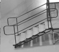 Where to rent STAGE STAIRS 6 STEP 24 -42  ADJUSTABLE in Raleigh NC