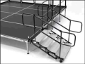Where to rent STAGE STAIRS 4 STEP 16 -30  ADJUST in Raleigh NC
