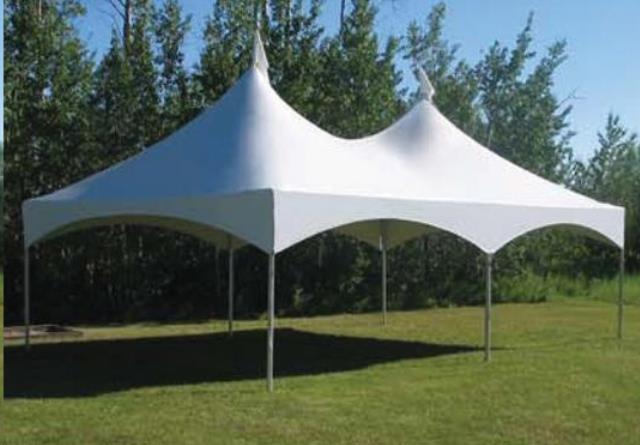 20 Foot X30 Foot High Peak Frame W 8 Foot Legs Tent