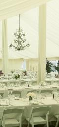 Where to rent WHITE DRAPE FOR 18  CENTER TENT POLE in Raleigh NC