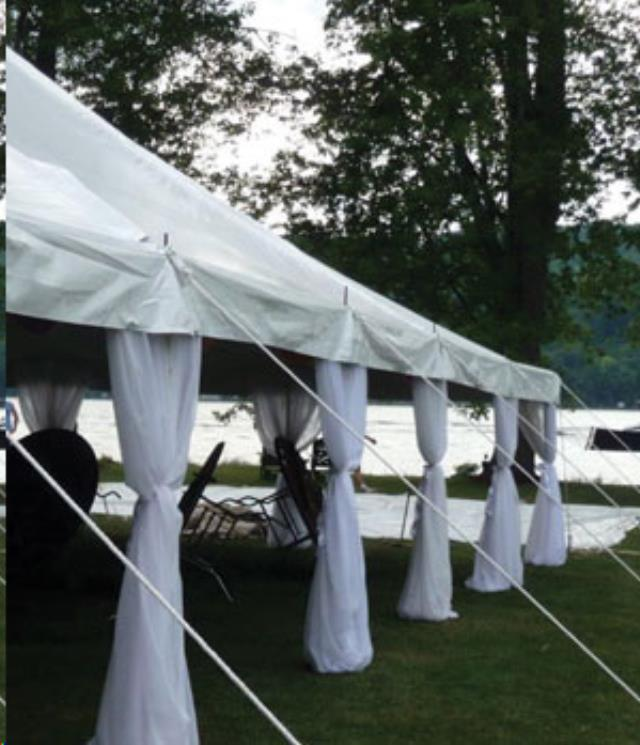 Where to find KWIK-COVERS DRAPE FOR TENT SIDE POLE in Raleigh