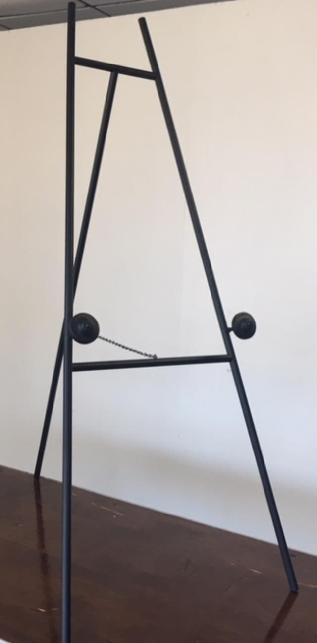 Where to find BLACK METAL EASEL 58 in Raleigh