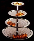 Where to rent TRAY 4 TIER TRAY MODERN STYLE in Raleigh NC