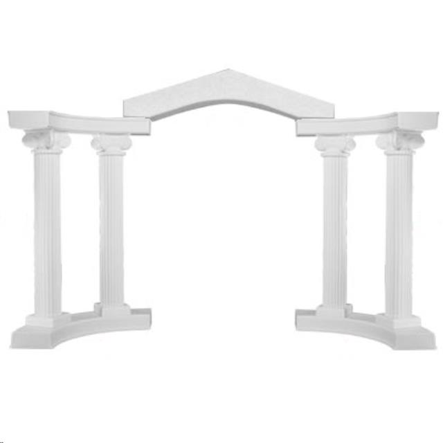 Where to find GRECIAN ARCH COLONNADE in Raleigh