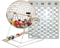Where to rent BINGO DRUM W  BALLS   BOARD in Raleigh NC