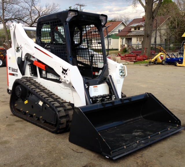 Bobcat T590 With Tracks Rentals Raleigh Nc Where To Rent