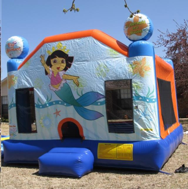 Where to find DORA THE EXPLORER 13  x13  BOUNCER in Raleigh