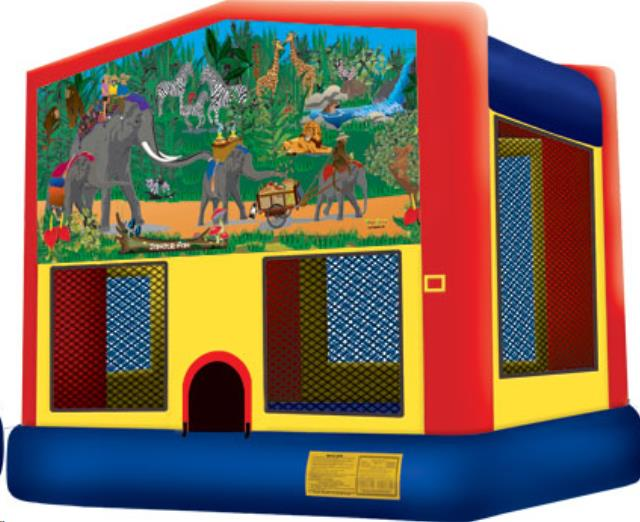 Where to find JUNGLE  BOUNCER 15  x 15 in Raleigh