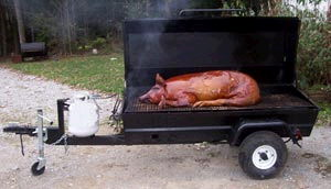 Pig Cooker Propane Rentals Raleigh Nc Where To Rent Pig