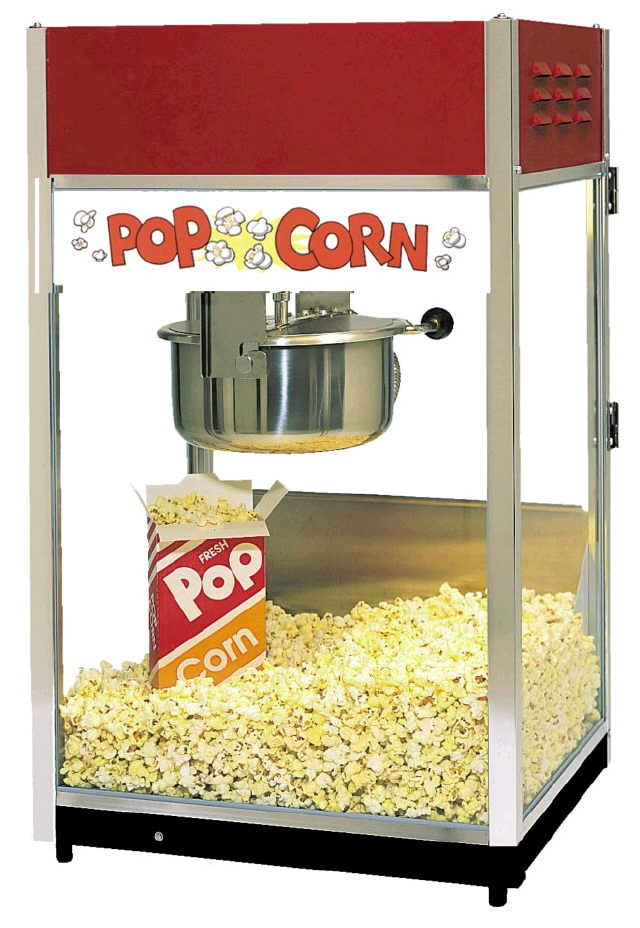 Where to find POPCORN MACHINE W  6 OZ KETTLE in Raleigh