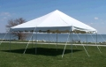 Where to rent 15 X15  POLE TENT WHITE in Raleigh NC