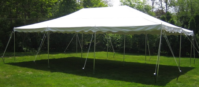 Where to find 20 X30  POLE TENT WHITE in Raleigh