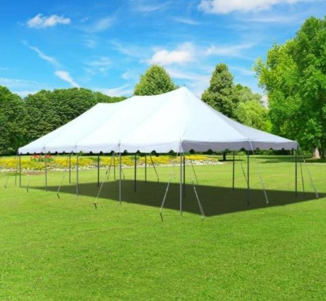 Where to find 20 X40  POLE TENT WHITE in Raleigh
