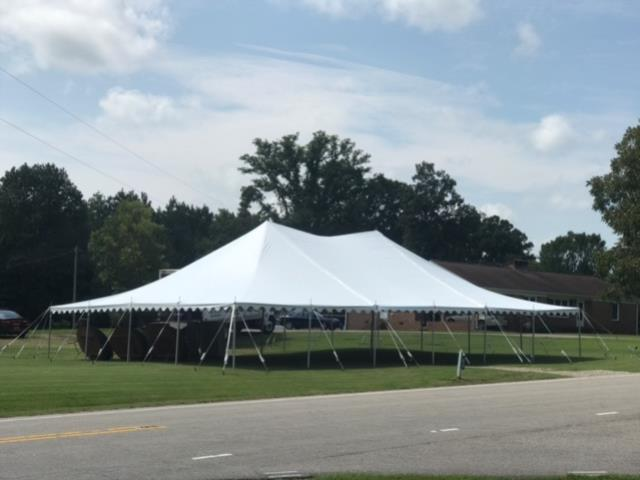Where to find 40 X40  EXPO SECTIONAL POLE TENT in Raleigh