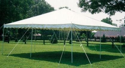 Where to find 20 X20  POLE TENT WHITE in Raleigh