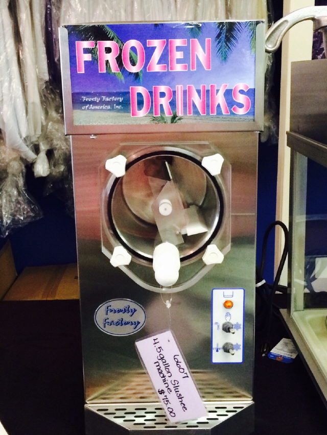 Where to find SLUSHEE MACHINE 4.5 GALLON STAINLESS in Raleigh