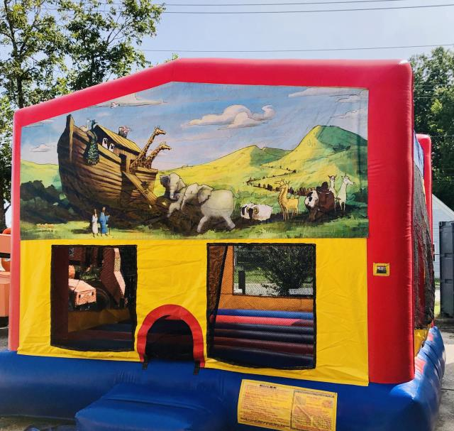 Where to find NOAHS ARK BOUNCER 15  X 15 in Raleigh